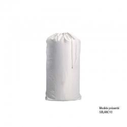Lot de 10 sacs blancs linge...