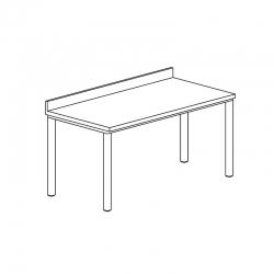 Table adossée gamme 700