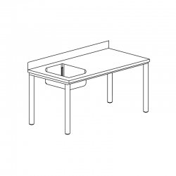 Table du chef gamme 600,...